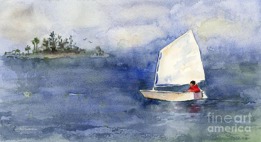 White Sabot Painting
