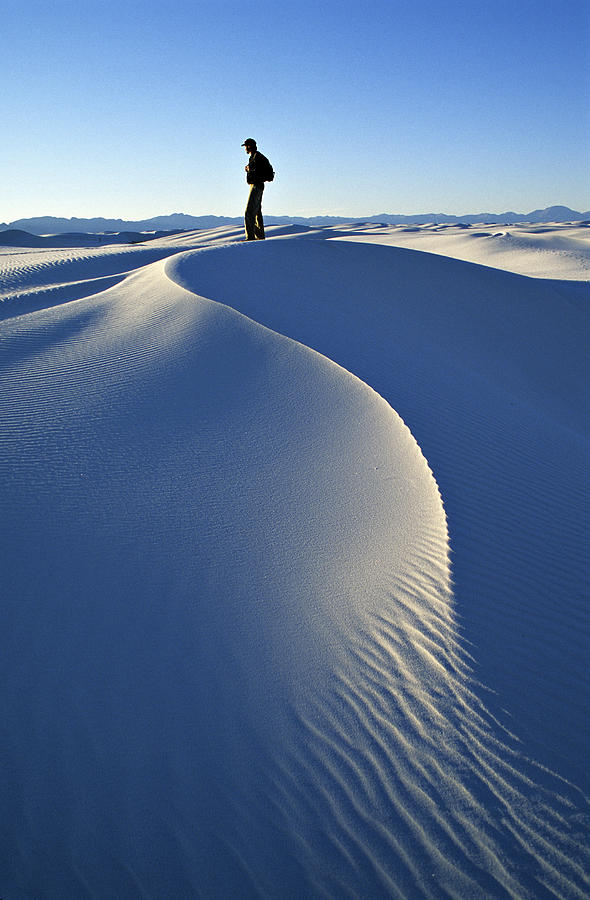 Travel Photograph - White Sands National Monument, Nm Usa by Dawn Kish