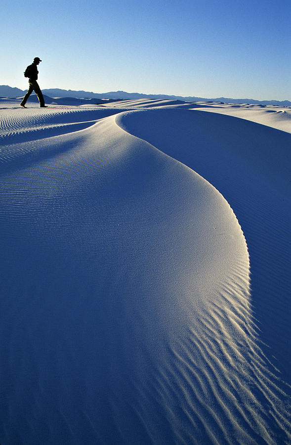 Mature Adult Photograph - White Sands National Park, New Mexico by Dawn Kish
