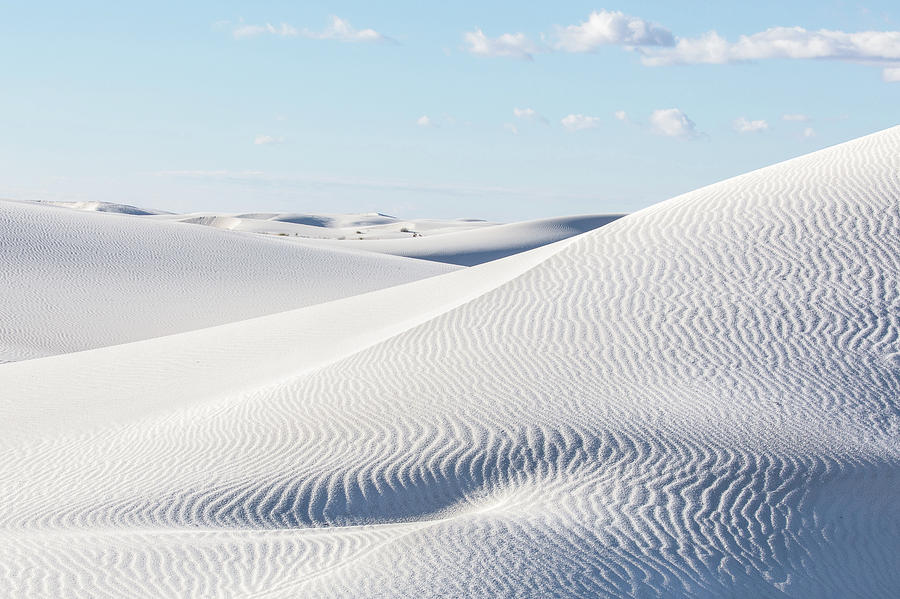 White Sands New Mexico Number Six by Bill Swindaman