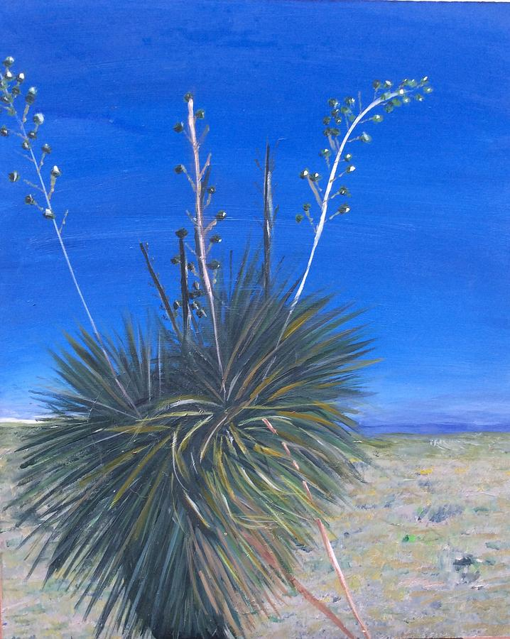 White Sands Sentinel Painting