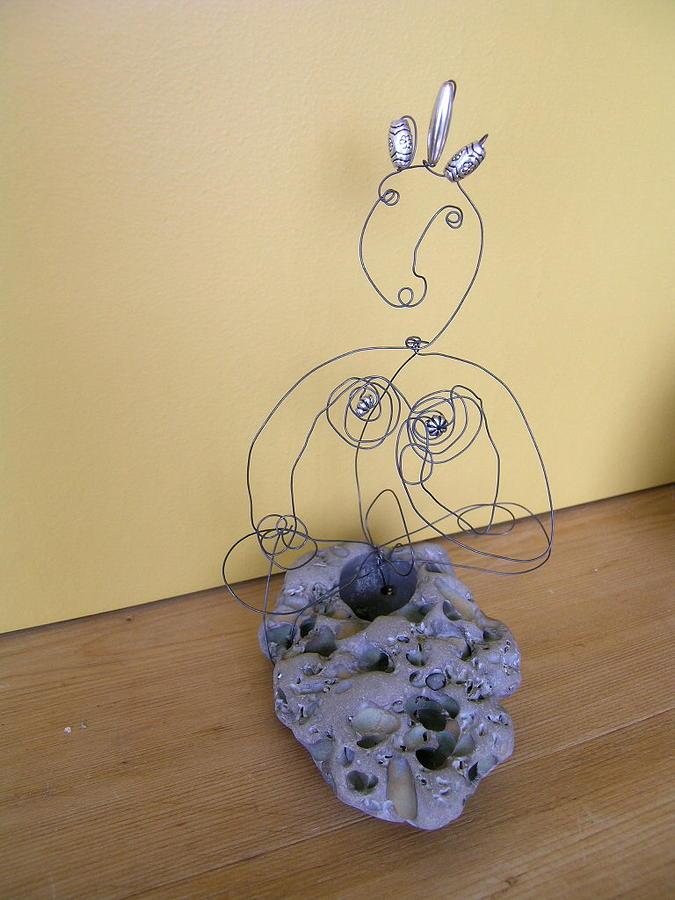 Sculpture - White Tara by Live Wire Spirit