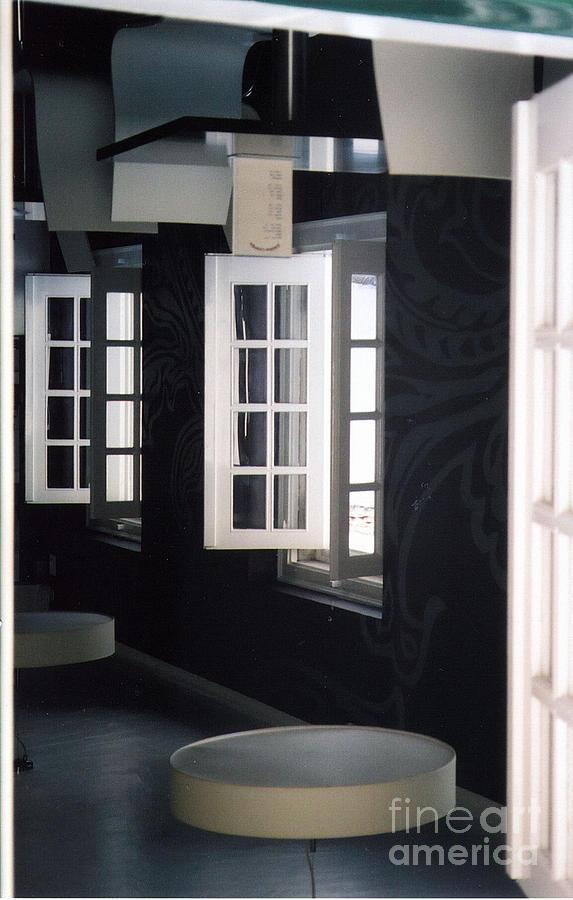 Portugal Photograph - White Windows by Andrea Simon