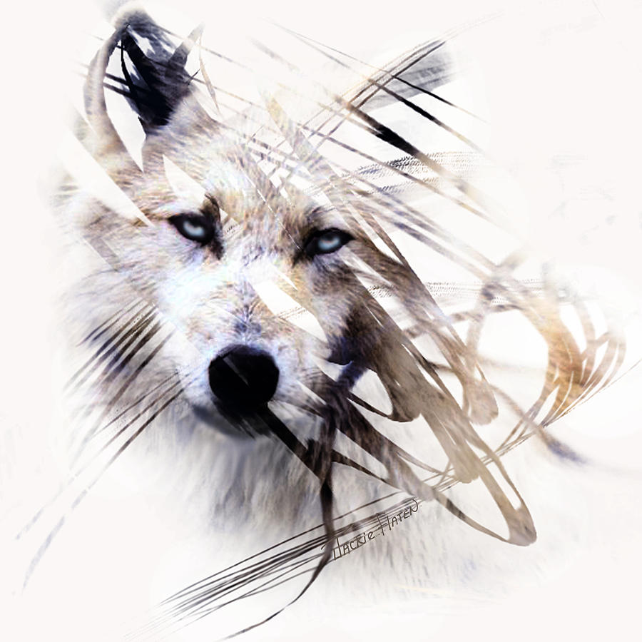 White Wolf by Jackie Flaten