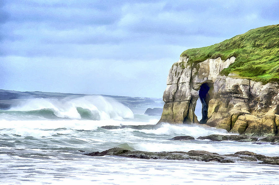 Whiterocks Sea Arch Digital Art