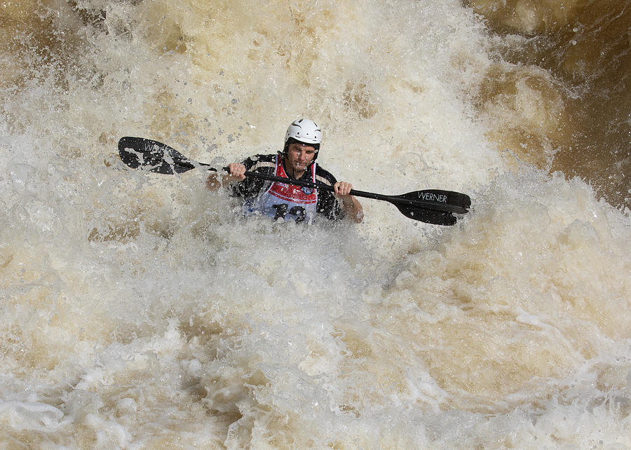 Kayak Photograph - Whitewater Rider by Art Cole