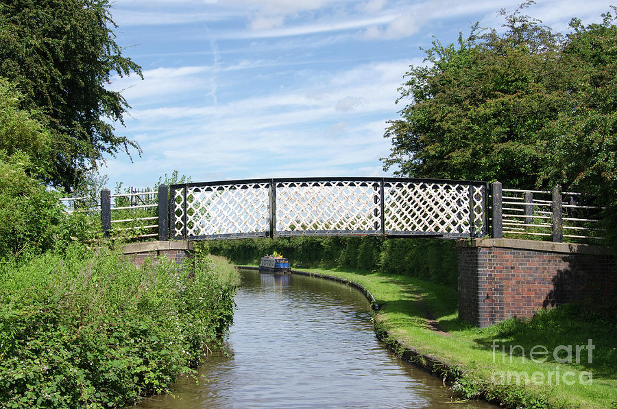 Whitley Photograph - Whitley Bridge by Steev Stamford