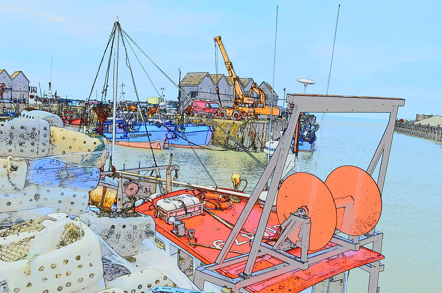 Whitstable Harbour 11 by Wendy Le Ber
