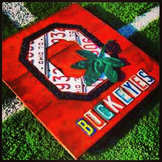Seminoles Photograph - Who Are You Rooting For Tonight?  #osu by Design Turnpike