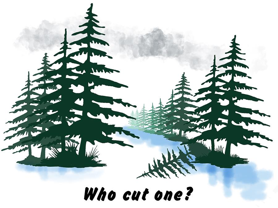 Who cut one? by Julie McCall
