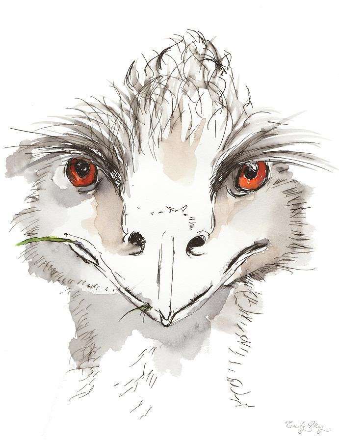 Who Emu? by Emily May Studio Arts