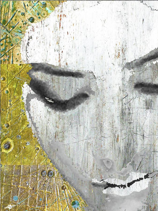 Woman Mixed Media - Who Is She by Tony Rubino