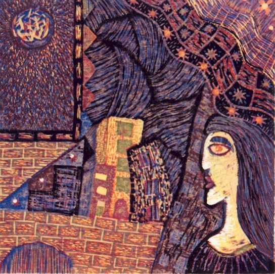 Who That Girl Print by Ekapon Poungpava