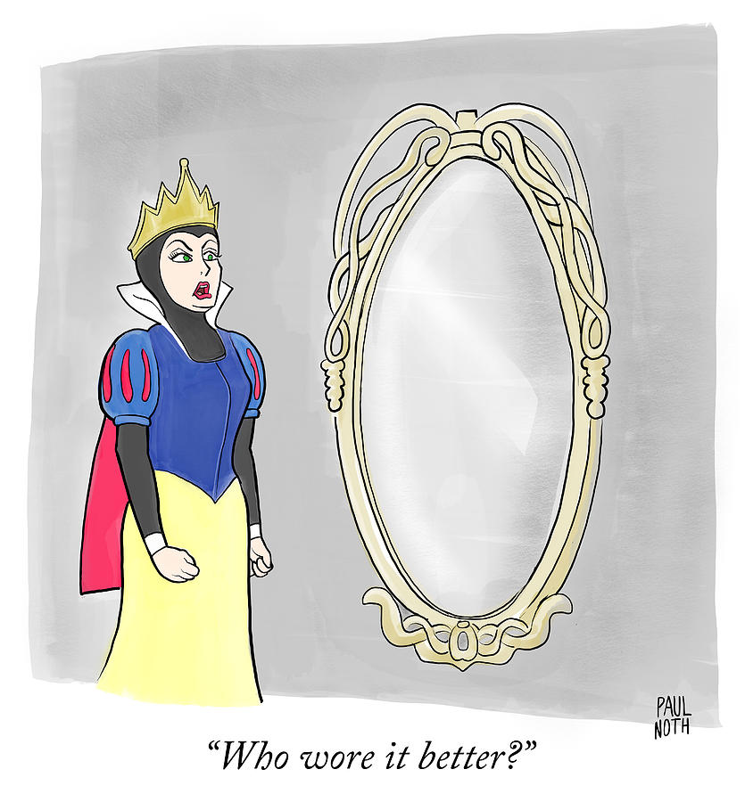 Who Wore It Better Drawing by Paul Noth