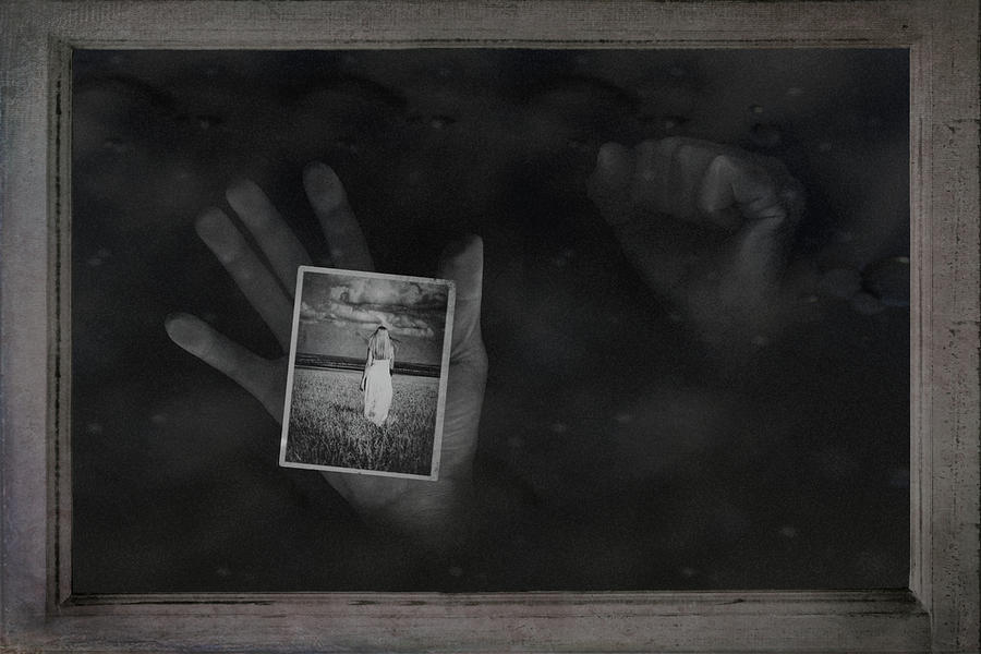 Hand Photograph - Why Did You Leave Me by Tom Mc Nemar