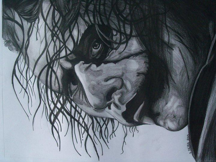 why so serious drawing by shavonne bryan