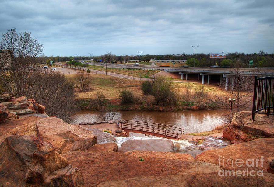Landscape Photograph - Wichita Falls View by Fred Lassmann