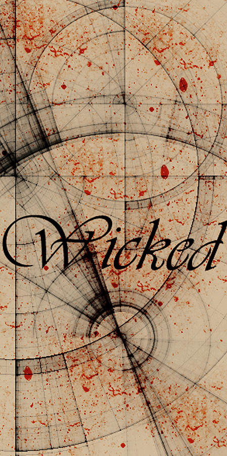 Digital Digital Art - Wicked by Cynthia Powell