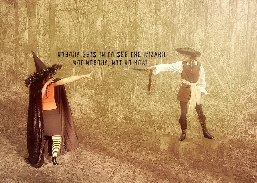 Halloween Photograph - Wicked Quote by JAMART Photography