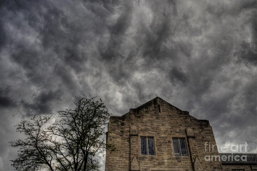 Chris Fleming Photograph - Wicked Sky by Chris Fleming