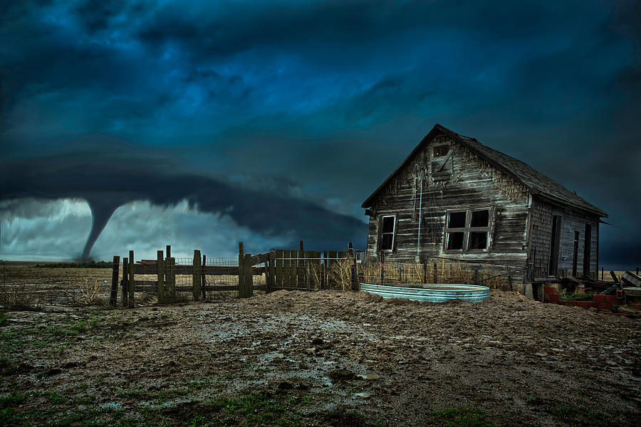 Tornado Photograph - Wicked by Thomas Zimmerman