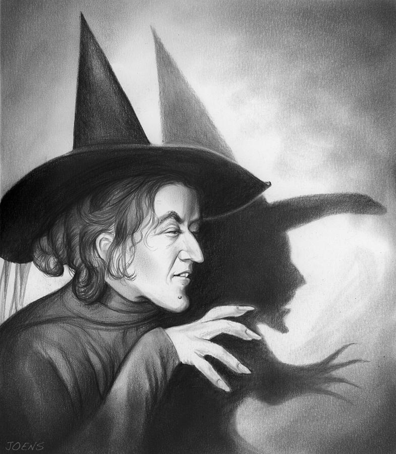 Wicked Witch Of The West Drawing