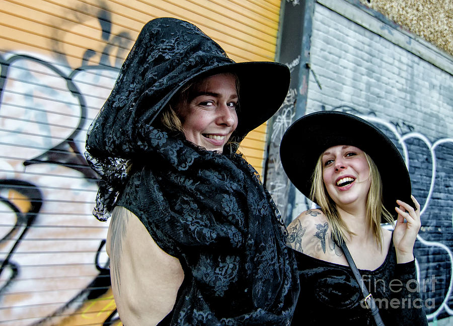 Wicked Witches At Boo Parade Nola Photograph