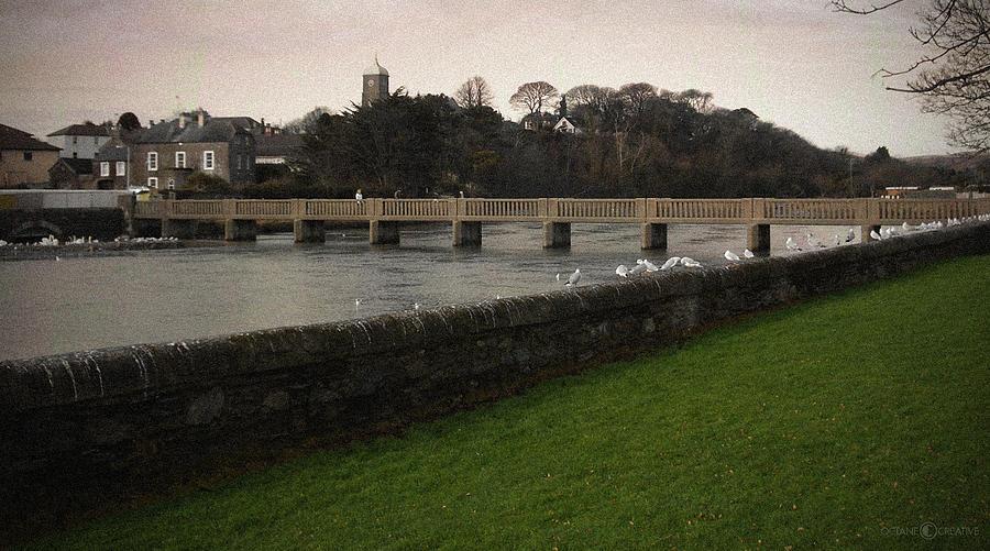Footbridge Photograph - Wicklow Footbridge by Tim Nyberg