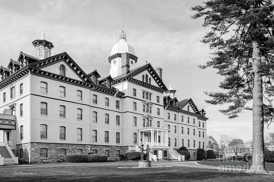 American Photograph - Widener University Old Main by University Icons