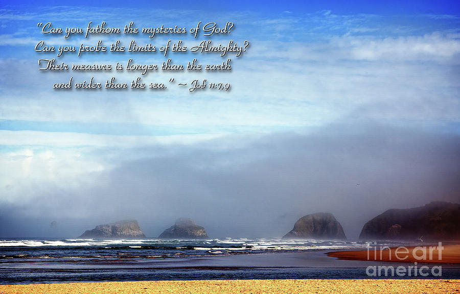 Bible Photograph - Wider Than The Sea by Lincoln Rogers