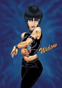 Widow Digital Art - Widow by Frank Rosalez Jr