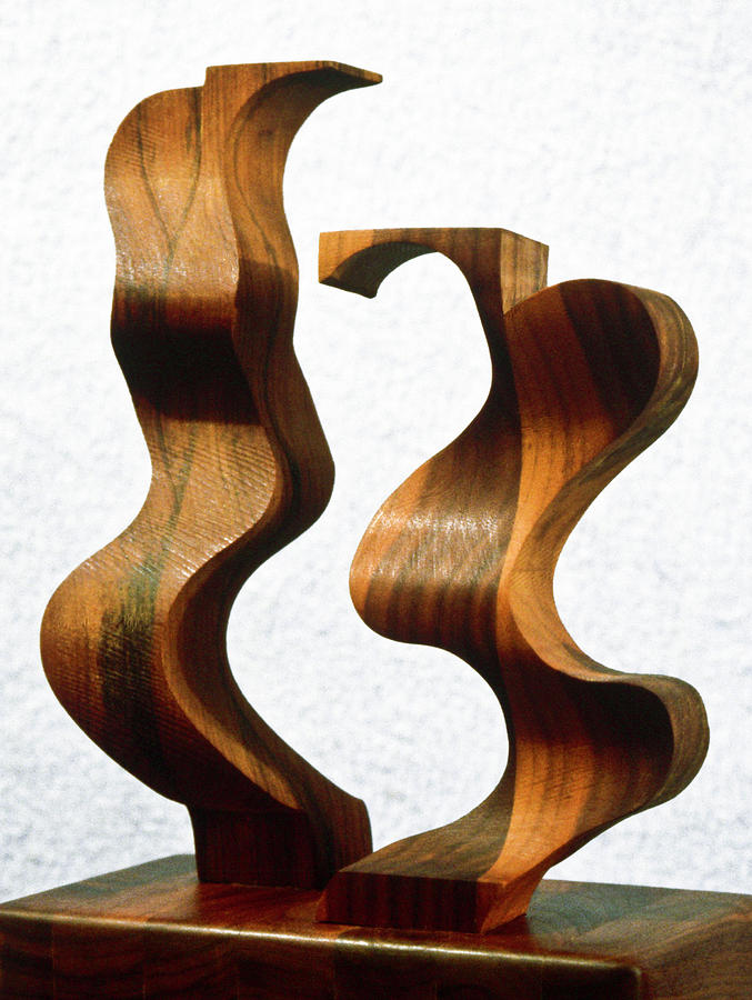 Sculpture Sculpture - Wiggly Women by Lonnie Tapia