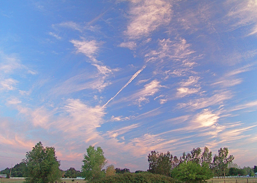Digital Photograph - Wild And Crazy Sky by John Norman Stewart