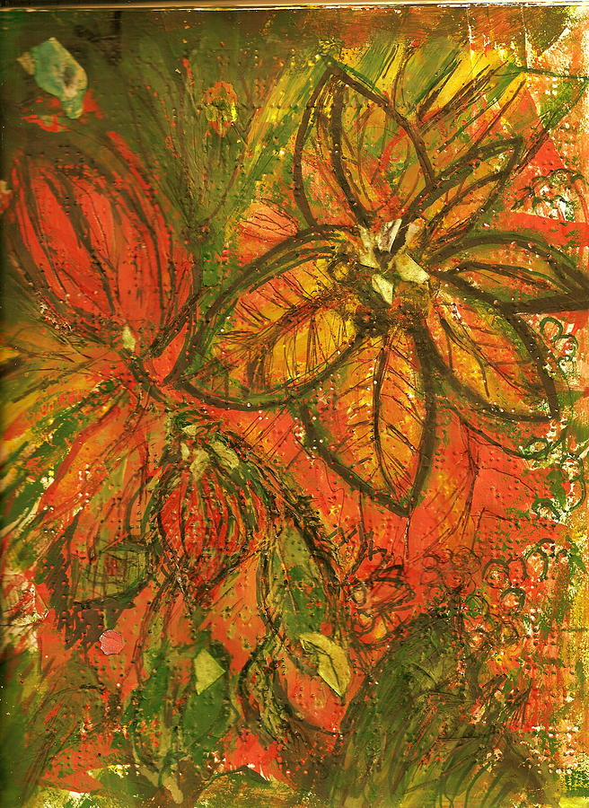 Bright Painting - Wild And Wonderful With No Fear by Anne-Elizabeth Whiteway
