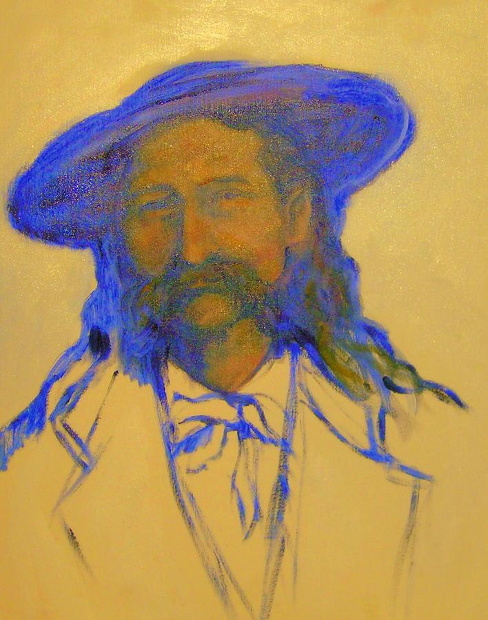 Wild Bill Hickok Painting by Johanna Elik
