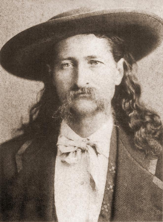 History Photograph - Wild Bill Hickok Was A Celebrated by Everett