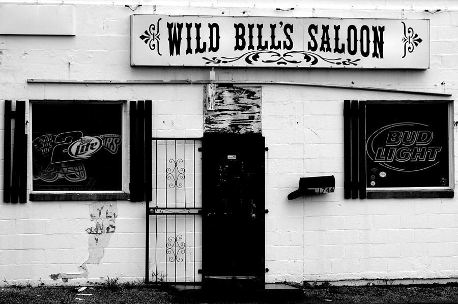 Bar Photograph - Wild Bills by William Jones