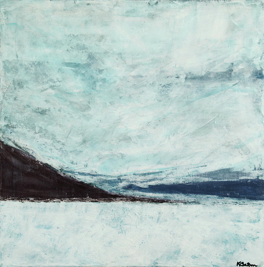 Canvas Print Painting - Wild Blue Yonder by K Batson Art