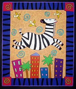 Wild Child Painting by Nancy  Coffelt