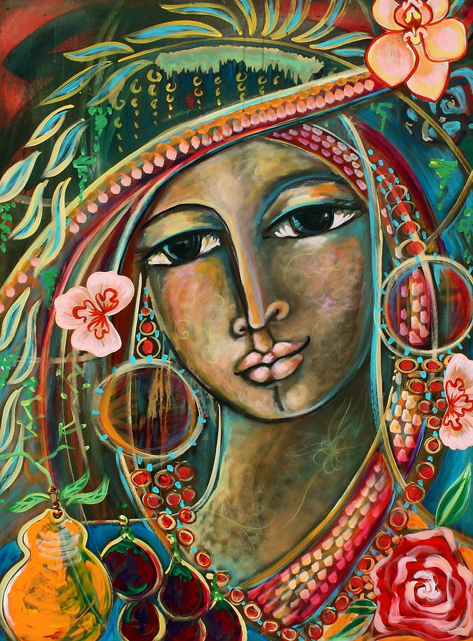 Visionary Art Framed Prints Painting - Wild Child by Shiloh Sophia McCloud