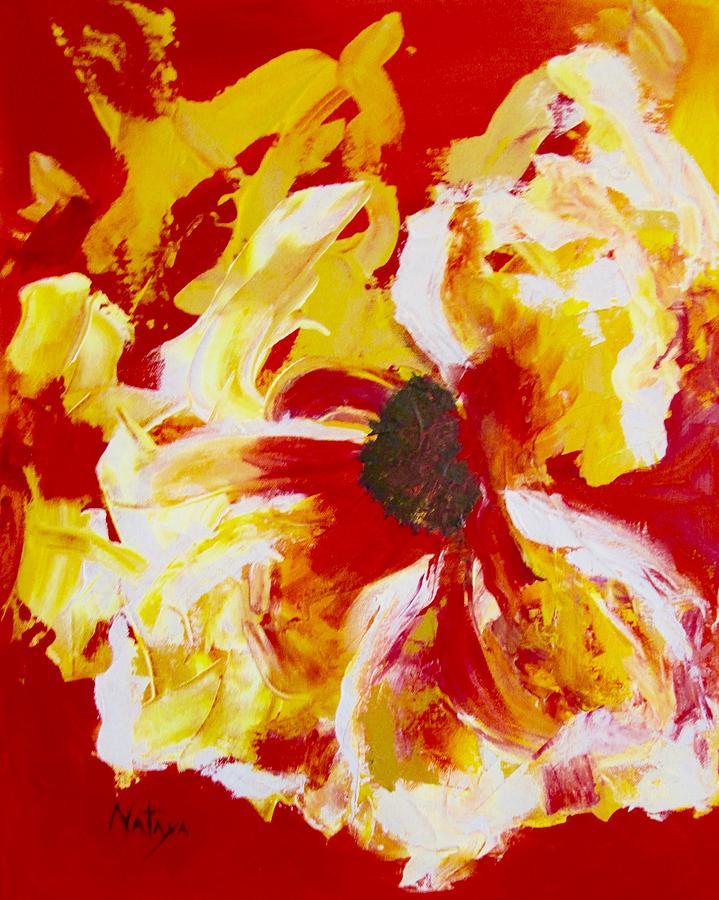 Flower Painting - Wild Flower by Nataya Crow