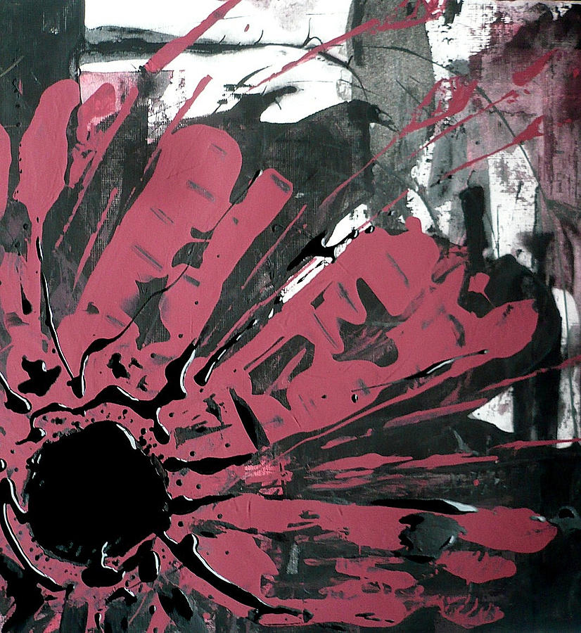 Wild Flower Abstract by 'REA' Gallery