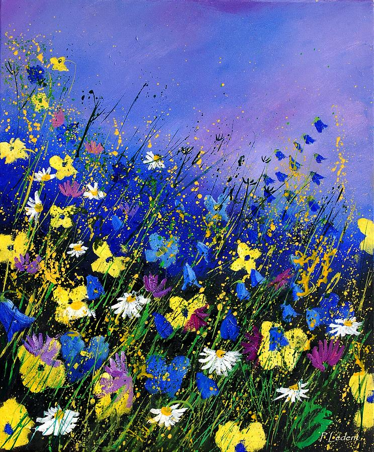 Wild Flowers 560908 Painting By Pol Ledent
