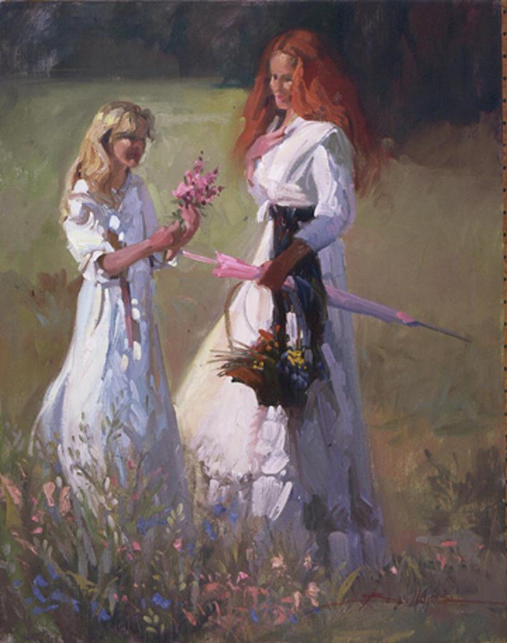 Flowers Painting - Wild Flowers by Betty Jean Billups