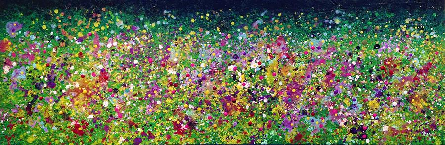 Summer Painting - Wild Flowers by Ivy Stevens-Gupta