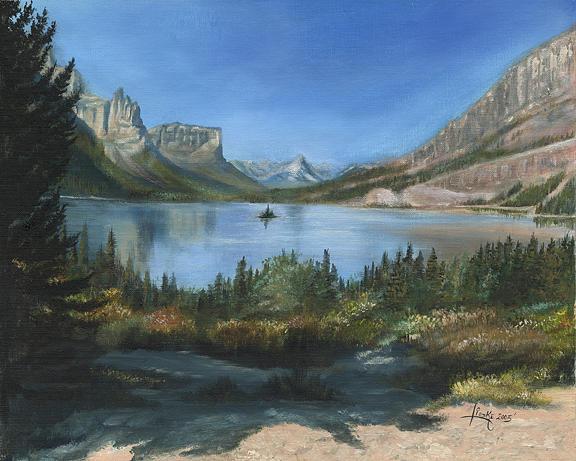 Wild Goose Island Print by Shane Lieske