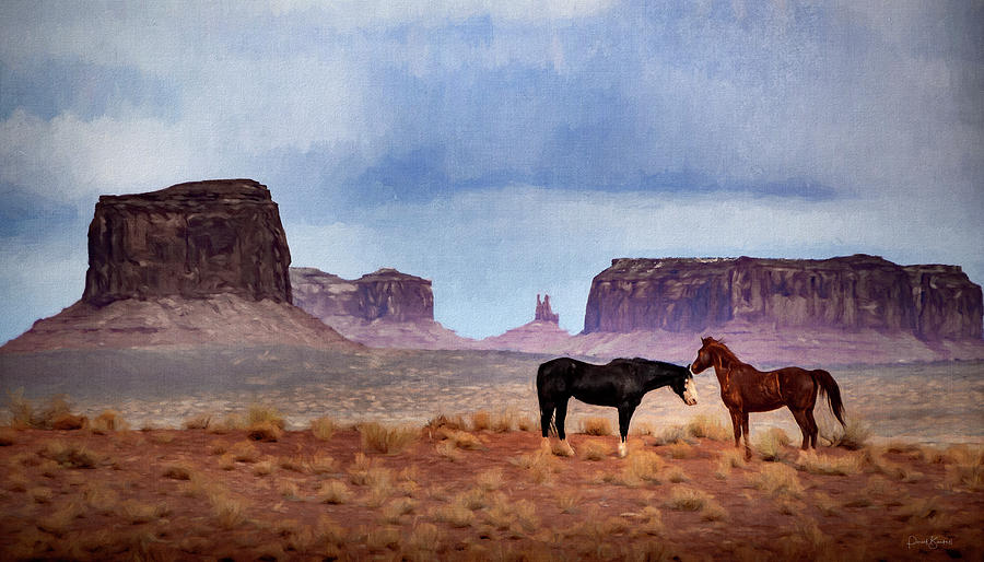Wild Horses on the Plains by Paul Bartell