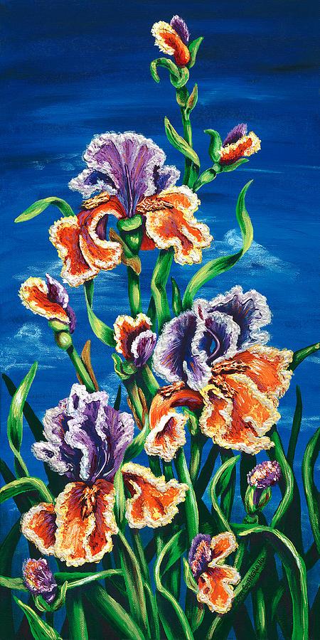 Wild Iris by Lori Sutherland