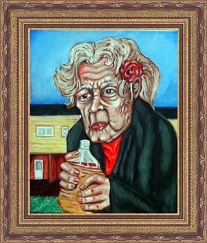 Illustration Painting - Wild Irish Rosa by Charles Coffin