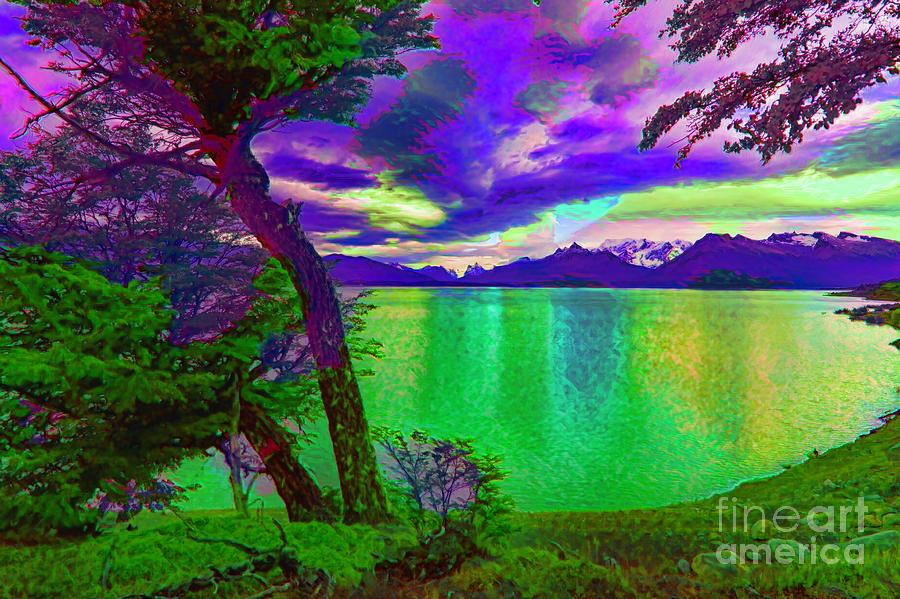 Ushuaia Photograph - Wild Lake by Rick Bragan